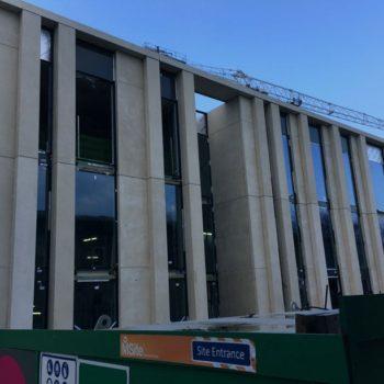 Precast concrete panels for Osbornes at St Pauls School | Shay Murtagh Precast