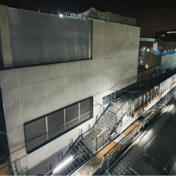 Façade Panels for Whitechapel Station, London | Shay Murtagh Precast