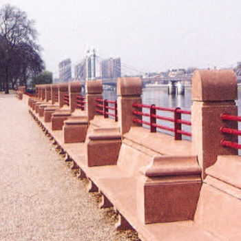 Restoration of Battersea Festival Park | Shay Murtagh Precast