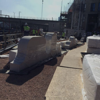 Precast units for Telford Homes project at Poplar Business Park, London, UK. | Shay Murtagh Precast