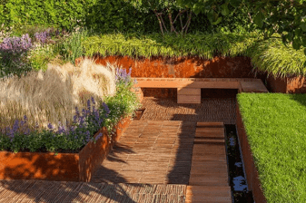 Concrete at Chelsea – Hard Landscaping in Prize-Winning Small Gardens | Shay Murtagh Precast