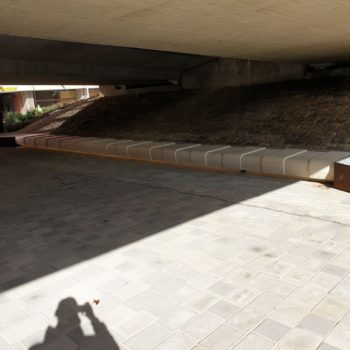 Hard Landscaping project at the University of Sheffield in Yorkshire | Shay Murtagh Precast