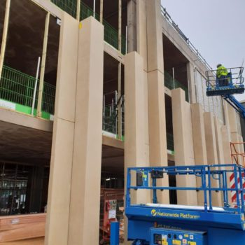 Concrete Panels for St Paul's School, London, nominated for a RIBA award | Shay Murtagh Precast