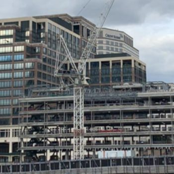Columns, beams and spandrels for Cabot Square, Canary Wharf, London.  | Shay Murtagh Precast