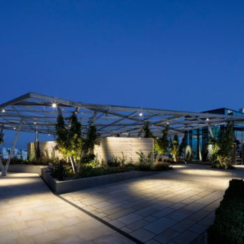 Crystal Garden, Fenchurch, London, Hard landscaping in the sky! | Shay Murtagh Precast