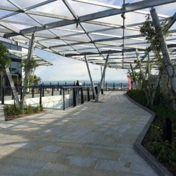 Crystal Garden, Fenchurch, London,Hard landscaping in the sky! | Shay Murtagh Precast