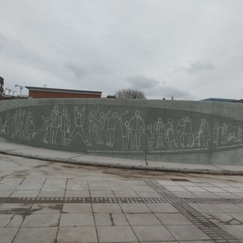 Lime Street station project, originally opened by HM Queen Elizabeth II, gets a new lease of life with Evans by Shay Murtagh bespoke concrete.   Shay Murtagh Precast